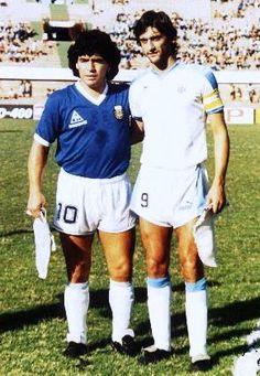 Maradona & Francescoli