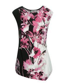 Side Buckle Top, Vibrant Pink Print #rickis #spring #spring2017 #springfashion #rickisfashion #boldimpact #pink #vibrantpink #colourofthemoment #loverickis