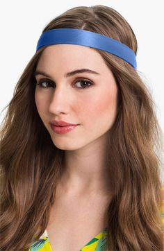 Women's L. Erickson Charmeuse Head Wrap - Blue
