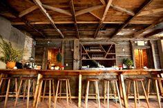 Wood design cafe