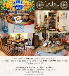 Os nossos móveis fazem parte da promoção desse mês! Todos estão com 20% a 40% de desconto. Venha nos visitar! O desconto é válido para todas as lojas, confira os endereços no site www.fuchic.com.br. // Our furniture are part of our monthly sale! They are 20% to 40% off. Come visit us! The discount is valid for all stores, check the addresses at www.fuchic.com.br.  #fuchic #nafuchictem #lojafuchic #promoçãofuchic #fuchic10anos #aniversáriofuchic #calçados #bolsas #acessórios #artesanato