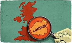 The resentment between London and the rest of Britain is turning into a poisonous political debate  Illustration by Ben Jennings