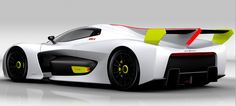 Pininfarina's Cool Hydrogen-Powered Concept Promises Guilt-Free Track Time