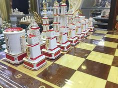Petrol chess Moscow