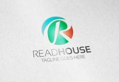 Read House R Letter Logo by Samedia Co. on Creative Market