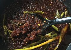 Sambal Recipe, Collor, Indonesian Food, Learn To Cook, Steak, Good Food, Food And Drink, Beef, Snacks