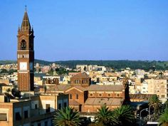 Asmara, Eritrea: the 2nd highest above sea level capital city in Africa at 7628 ft or 2325m. Also, the 7th highest in the world.