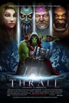Thrall - Courage is Immortal