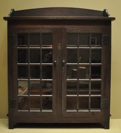 Roycroft bookcase.