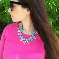 #hotpink and #statementnecklace #jewels