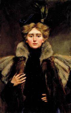Natalie Barney in Fur Cape - 1890s in Western fashion - Wikipedia, the free encyclopedia