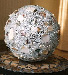 Leuchtkugeln crackle mosaik glas by lonasart on - Dekoration mosaik ...