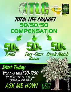 Total Life Changes impacting the health and wealth of individuals and families. Grow your TLC business by applying these simple 5 steps to success. For more info visit: https://www.totallifechanges.com/charmcrenshaw Independent Business Owner: 6628311 ElainesTLC@gmail.com https://www.facebook.com/CharmT78 https://www.facebook.com/Total-Life-Changes-Club-865501930198428