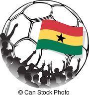 Soccer Fans Ghana