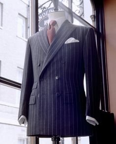 Behind the Scenes at Savile Row Tailoring House Anderson & Sheppard