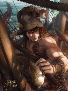 Sinbad legend of the cryptids