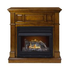 Features:  -Dual fuel technology (Liquid Propane or Natural Gas);.  -Wall or corner installation option.  -Electronic spark ignition; overheat safety switch.  -Dual Burner with thermostat.  -Unvented