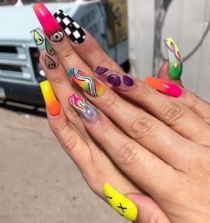 42 Sophisticated Grunge Nails Ideas Can Make You Looks More Elegant Perfect Nails, Gorgeous Nails, Pretty Nails, Fancy Nails, Drip Nails, Aycrlic Nails, Weed Nails, Summer Acrylic Nails, Best Acrylic Nails