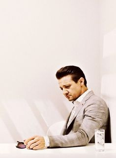Jeremy Renner for 'M - le magazine du Monde'
