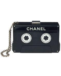 Chanel Cassette Tape Clutch