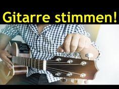 Gitarre stimmen ohne Stimmgerät für Anfänger - spielen & zupfen lernen mit klassischer Gitarre - YouTube Good To Know, Youtube, Guitar, Keyboard, Piano, Meditation, Music Guitar, Singing, Classical Guitars