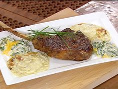 Roasted Bone-in Rib-Eye for Two Recipe : Emeril Lagasse : Food Network - FoodNetwork.com