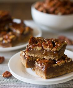 Salted Pecan Pie Bars.      3 cups all-purpose flour        1/2 cup white sugar        1/2 teaspoon salt        1 cup margarine        4 eggs        1 1/2 cups light corn syrup        1 1/2 cups white sugar        3 tablespoons margarine, melted        1 1/2 teaspoons vanilla extract        2 1/2 cups chopped pecans