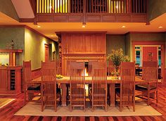 http://www.aneitafern.com/frank_lloyd_wright_gallery.htm    Aneita Fern is proud to be the exclusive D/FW retailer of The Frank Lloyd Wright Collection by Copeland Furniture. A deep appreciation for the environment and desire to build stunning, quality furniture pieces both come naturally to this family-owned, Vermont-based company.
