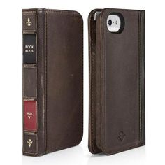 Twelve South Bookbook Funda Cartera De Piel Iphone 5 - $ 319.00