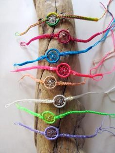 dream-catcher bracelets!