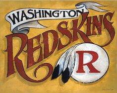 Washington Redskins -I want this on a shirt!!