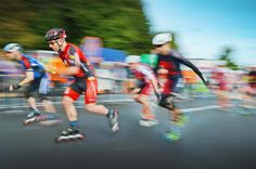 Viele Zuschauer feuern die Aktiven an +++  Rekord: 5179 Teilnehmer beim »Run & Roll«-Day