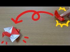 折り紙「ジャンピングつる」作り方 Origami Jumping Crane - YouTube