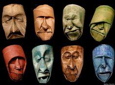 紙彫刻のフランス人芸術家は、トイレットペーパーの芯で人間の顔を作る(画像)                                                                                                                                                                                 もっと見る