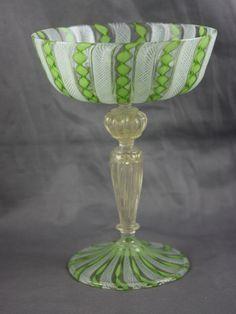 Large Selection of Beautiful and Unique Murano Glass Venetian Glass, Antique Glass, Vintage Bar, Vintage Italian, Cut Glass, Glass Art, Swarovski, Carnival Glass, E Design