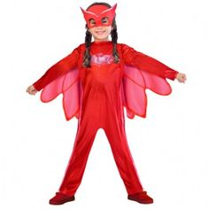 From Pj Masks Superhero Kids Child Owelette Fancy Dress Costume & Mask Years) Fancy Dress Costumes Kids, Superhero Fancy Dress, Fancy Dress For Kids, Superhero Kids, Dress Up Costumes, Girl Costumes, Pj Masks Kostüm, Pj Masks Pajamas, Festa Pj Masks
