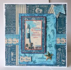 By the Sea - 7 x 7 card
