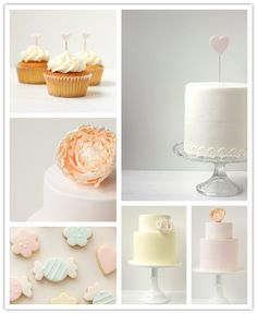 Pretty set up for a bridal or baby shower.