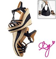 PUMP It Up Sandals!! LOVE!! $38 Awesome Match To Our Meetmark Hand bags!!