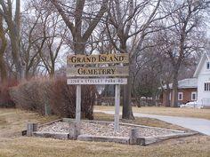 Grand Island Cemetery; Grand Island, Hall, Nebraska, USA