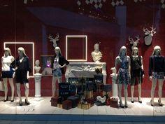 Christmas Window H&M Chile 2013