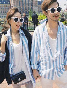 Stylestoker [커플] 포카리 셔츠