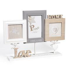 Cornice fotografica da tavolo Love polare