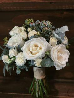 White and Blue Bridal Bouquet Bridal Bouquet Blue, Blue Bridal, Floral Wedding, Wedding Flowers, Dish Garden, Order Flowers Online, Sympathy Flowers, Vase Arrangements, Gerbera