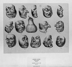 Honoré Daumier – Masques de 1831