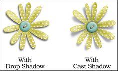 Cast shadow tutorial