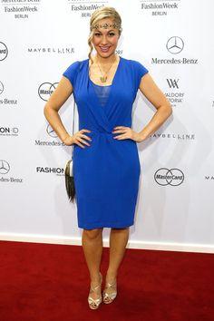 Pin for Later: Die Stars machen Berlin zum Mode-Mekka bei der Fashion Week Ruth Moschner bei der Schau von Riani