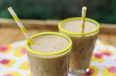 Lighter Treat Recipe: Frozen Banana, Peanut Butter & Chocolate Chip Milkshake | Kitchn
