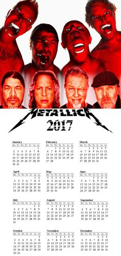 My calendars made it in Photoshop :з