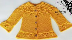 Daylight Cardigan / English subtitle / Sunshine baby sweater – Baby out Fits Baby Cardigan, Baby Pullover, Crochet Baby Clothes, Crochet Baby Hats, Booties Crochet, Baby Booties, Baby Sandals, Newborn Hats, Nike Outfits